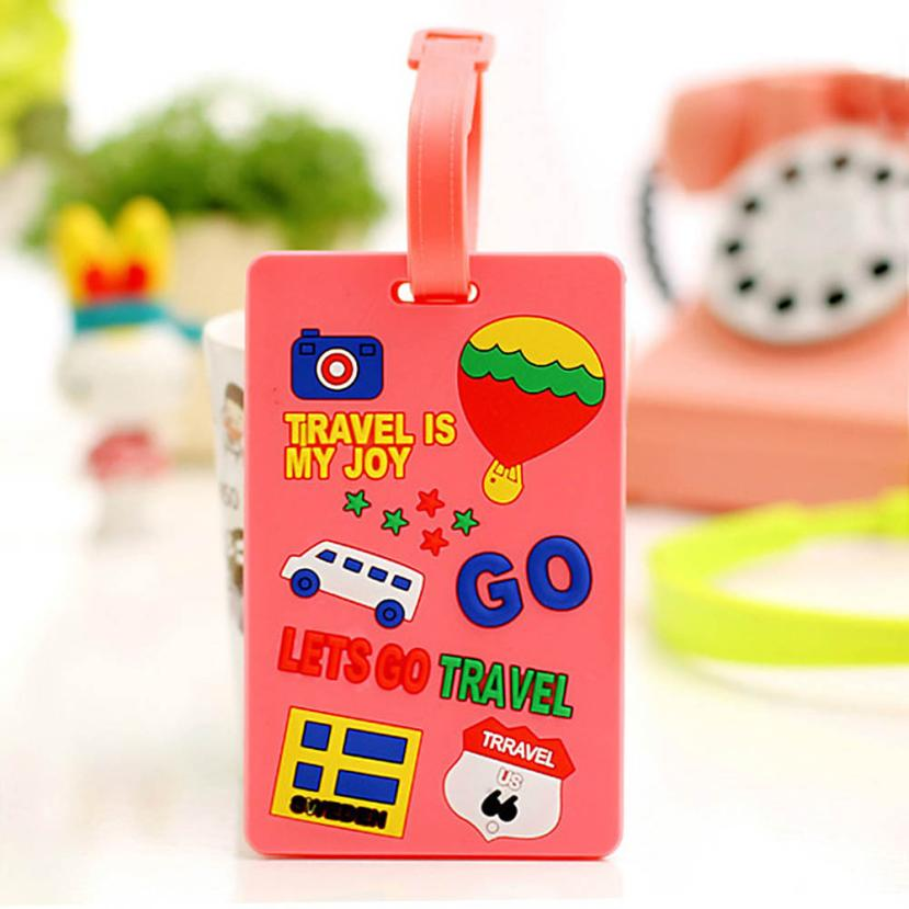 New Qualified Cute Portable Secure Travel Suitcase ID Luggage Large Tag Label Dropship D23Au29