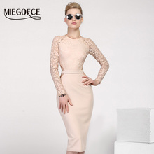 MIEGOFCE 2020 New Design Summer Women Dresses to The Knee Fa