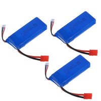 High Capacity 7.4v 2500mah Lipo Battery FOR SYMA X8 X8C X8W X8G RC Drone Spare parts rechargeable Battery Set meal OR Blad
