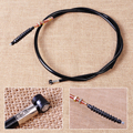 New Black Motorcycle High Quality Metal Clutch Cable Line Fit For Yamaha YZF R6 1999 2000 2001 2002 About 126 cm (49.6inch)