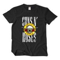 Guns N Roses Print Summer T Shirt Men Women 2016 New Fashion Rock Singers Cotton T