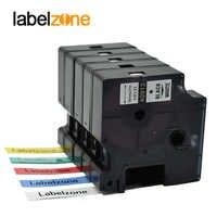 Gemischt 15 farben 9mm 40913 kompatibel dymo D1 label bänder D1 40910 S0720680 Laminiert band kassette für Dymo LM160 280 drucker