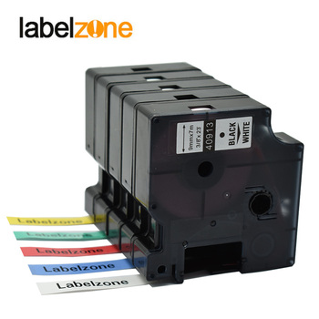 Mixed 15 colors 9mm 40913 compatible dymo D1 label tapes D1 40910 S0720680 Laminated ribbon cassette for Dymo LM160 280 printer