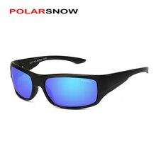 POLARSNOW Coating Mirrors Polarized Driving Sunglasses Men Top Quality Goggles UV400 Shades 2017 Brand Designer Sun Glasses