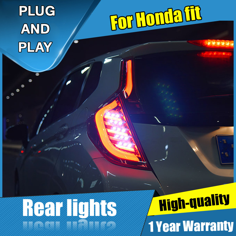 4PCS Car Styling for Honda fit Taillights 2014 2018 for fit LED Tail Lamp Turn Signal