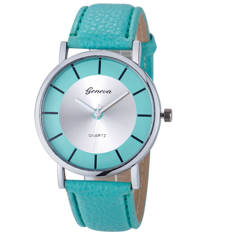 Excellent Quality New Brand Womens Geneva Fashion Retro Dial Leather Analog Quartz Wrist Watch Watches