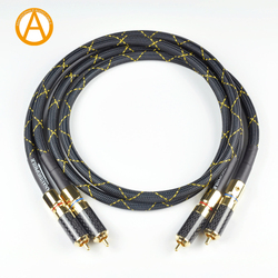 ANAUDIOPHILE Hi-Fi RCA Audio Cable Siltec SQ88 G5 RCA Interconnect Audio Cable For Preamplifier Amplifier DAC RCA Cable
