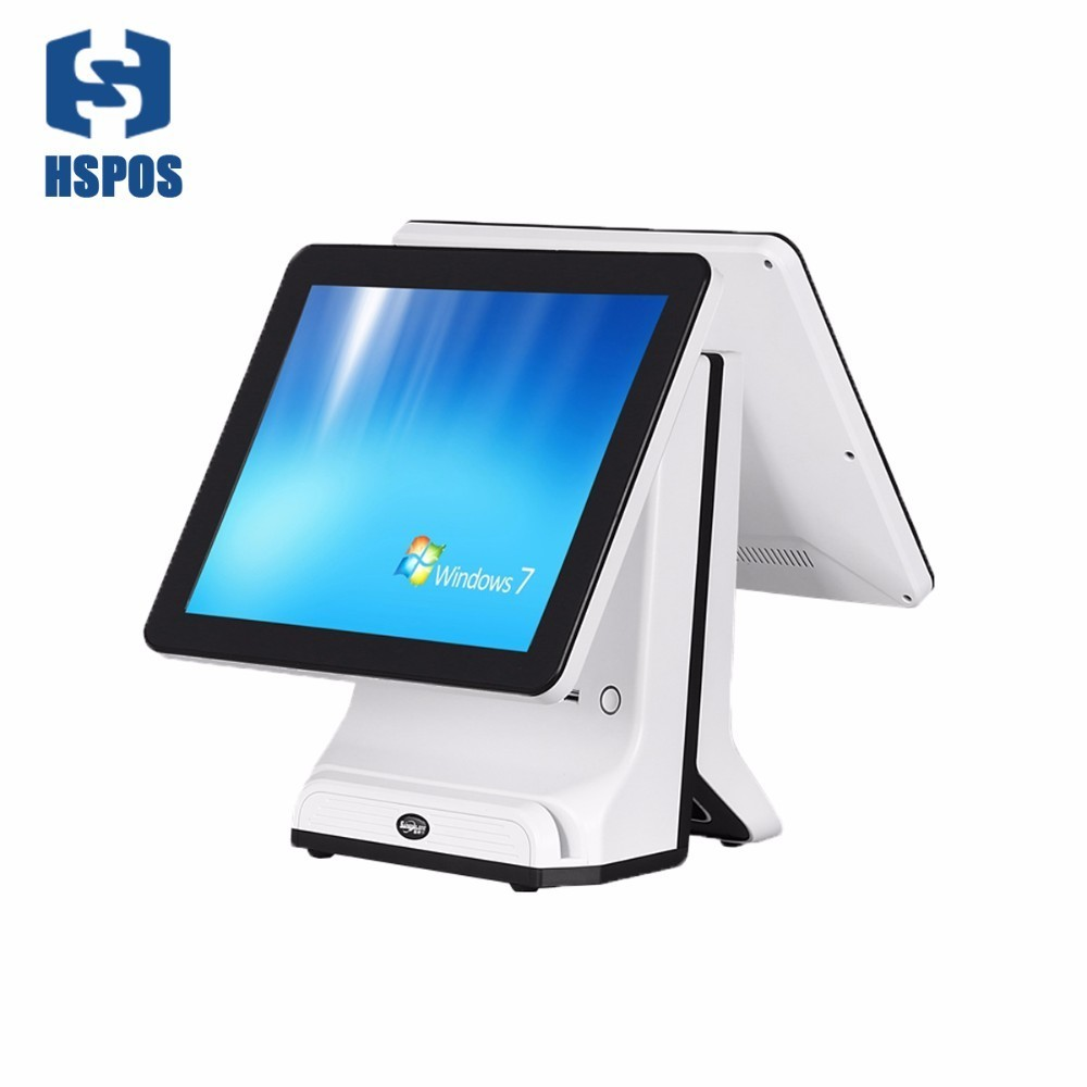 HSPOS Capacitive touch screen 15 inch POS system Cash Register pos terminal all in one for retail SDL15 in Printer Parts from Computer Office