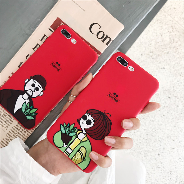 The Professional Killer Case For iphone 6 6S 7 8 plus XR XS Max Case Fashion Lovers Phone Cases For iphone X 5s SE XS Soft Cover