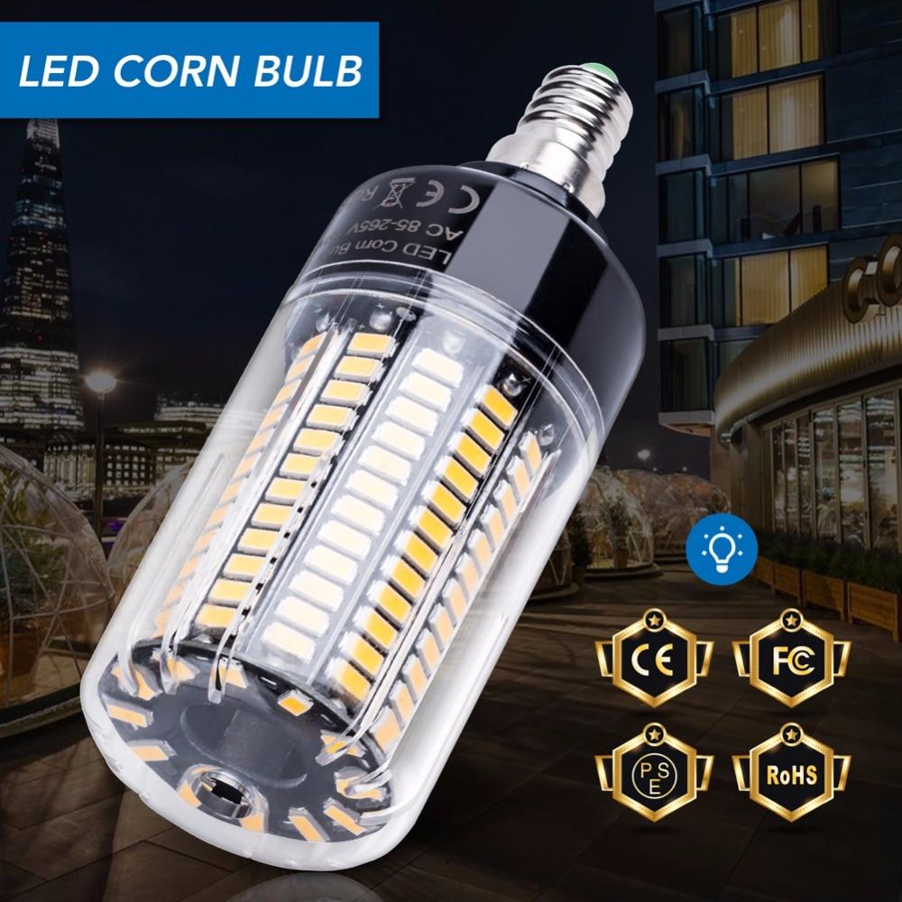 Led Lamp E27 5736 SMD 20W Led Bulb E14 15W Led Corn Light AC 85-265V 3.5W 5W 7W 9W 12W Indoor High Lumen Lamp for Ceiling Light