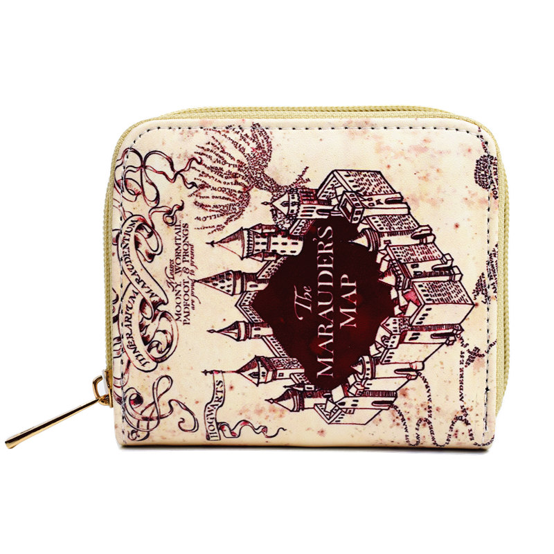 FVIP Harry Potter Short Wallet Hogwarts Four Colleges Zipper Around Wallets Mini Clutch Bag Women Coin Bag fvip high quality short wallet harry potter game of thrones suicide squad wonder women tokyo ghoul men s wallets women purse