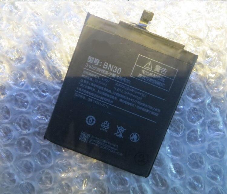 3120mAh BN30 Battery For Xiaomi Redmi 4A Battery Redrice 4A Hongmi 4A Bateria Accumulator High Quality