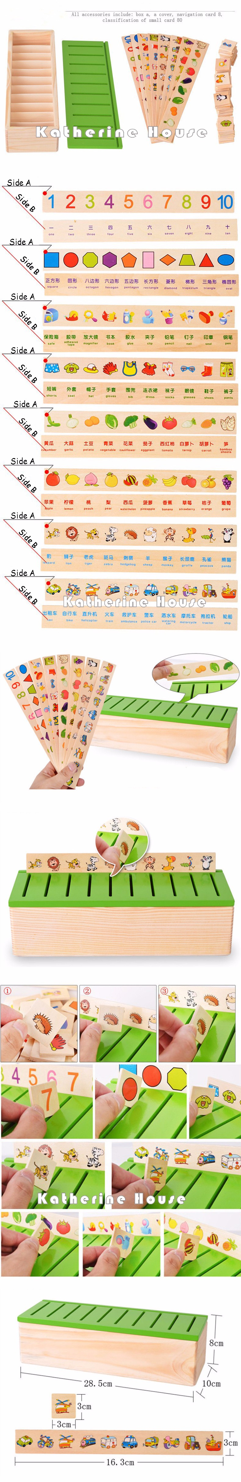 Montessori Mathematical Knowledge Box Toys