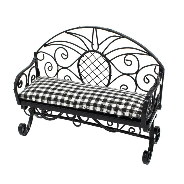 Super Abwe Best Sale 1 12 Dollhouse Miniature Furniture Double Sofa Chair Couple Sofa Couch Bench Dolls House Accessories In Doll Houses From Toys Hobbies Frankydiablos Diy Chair Ideas Frankydiabloscom
