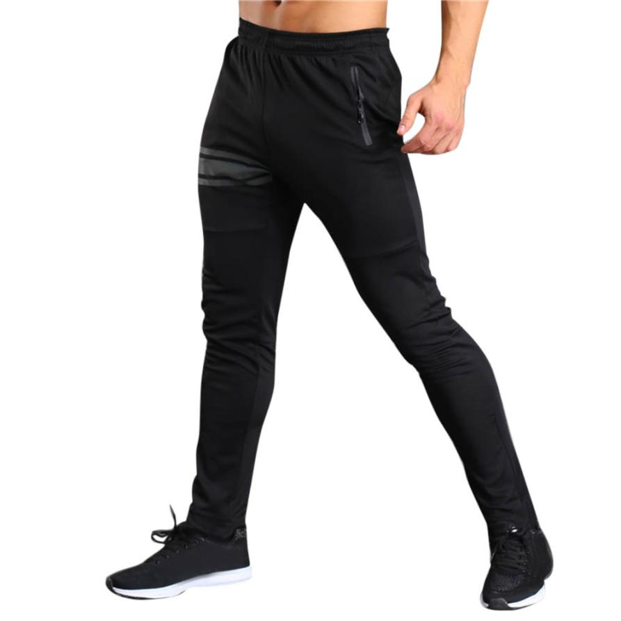 CHAMSGEND 2018 Black Men Sportwear Long Casual Pants Slim Fit Trousers Jogge Cotton trousers Sweatpants Drop Shipping 2F8 ...