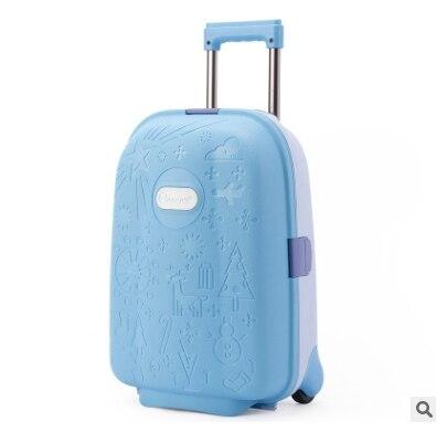 子供旅行荷物スーツケーススピナースーツケース用子供トロリー荷物ローリングスーツケース用女の子輪スーツケーストロリーバッグ  グループ上の スーツケース & バッグ からの キャスターバッグ の中 1