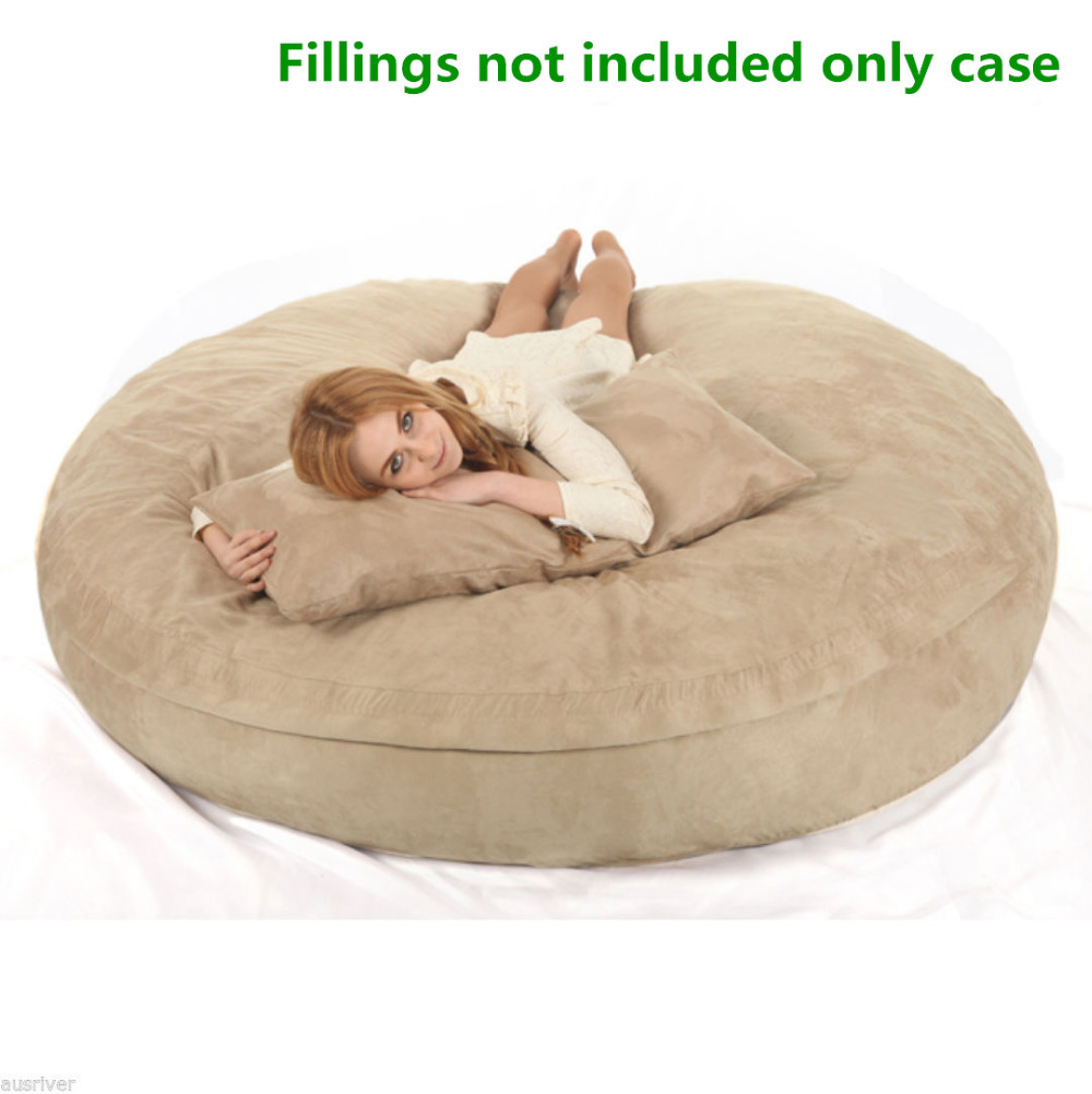 XXL Bean Bag Chair For Adult Bags Lazy COVER Not Included Fillings With High Quality MICRO SUEDE In Living Room Sofas From Furniture On