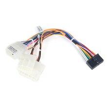 Dasaita DYX004 автомобильный DVD аудио провода жгута адаптер для Toyota Corolla Camry Prado RAV4 Hilux завод радио кабель SWC