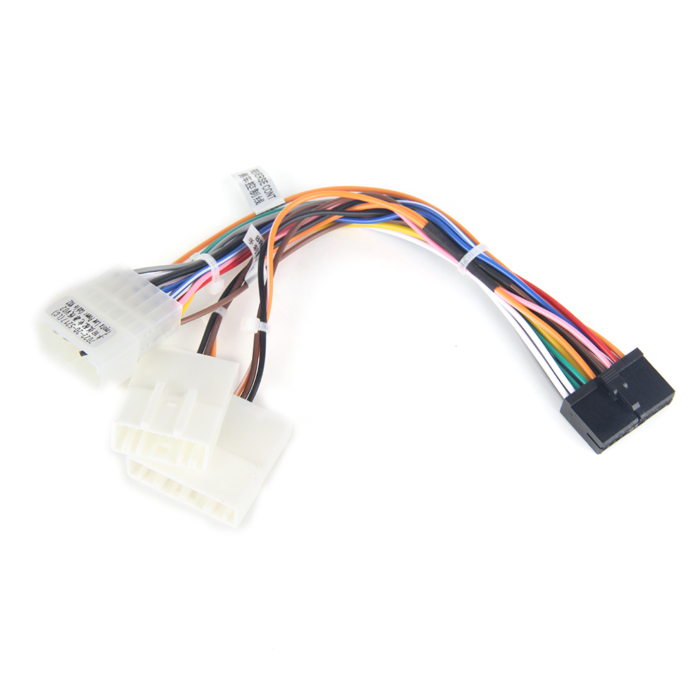 Dasaita DYX004 Car DVD Audio Wire Harness Adapter for <font><b>Toyota</b></font> <font><b>Corolla</b></font> Camry Prado RAV4 Hilux Factory <font><b>Radio</b></font> Cable SWC image