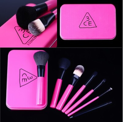 Korea Genuine Stylenanda 3ce Makeup Brushes Set Foundation Contour Eyeliner Blending Eyeshadow Brush Pinceaux Maquillage BR22 stylenanda 25g