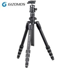 GIZOMOS GP 23C5 GHA 30D Professional Portable Carbon Fiber Tripod and Ball Head For Canon Sony