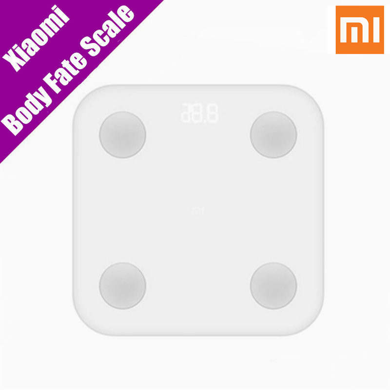 все цены на  Original  Xiaomi Mi Smart Body Fat Scale With Anti-Dust Case Body Monitor Mifit App Bluetooth Remote Control Weighting Scale 2  онлайн