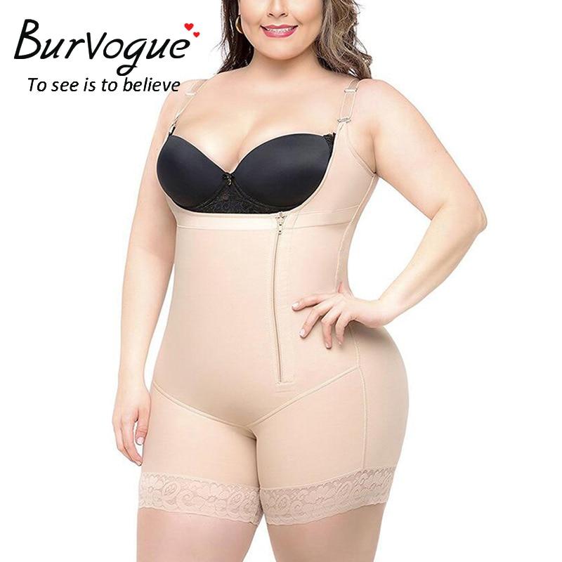 Bodys Klug Verkaufs-burvogue Abnehmen Unterwäsche Body Frauen Kolben-heber Modellierung Gurt Körper Former Plus Größe Shapewear Bauch-steuer Body Shaper