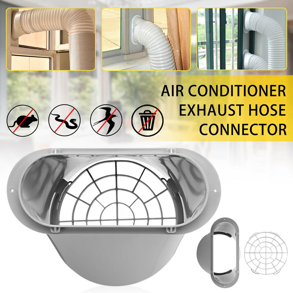 Coomir Conector de Tubo de Manguera de Escape para Aire Acondicionado port/átil Adaptador de Ventana para Aire Acondicionado de Shinco