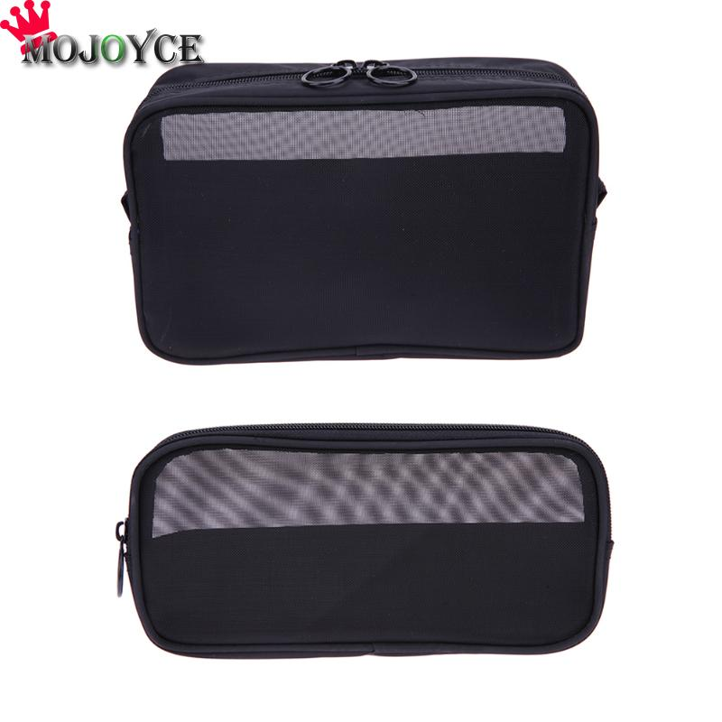 все цены на Women Portable Mesh Cloth Makeup Bags Case Lipstick Cosmetic Brush Holder Organizer Storage Pouch Make Up Toiletry Bag онлайн