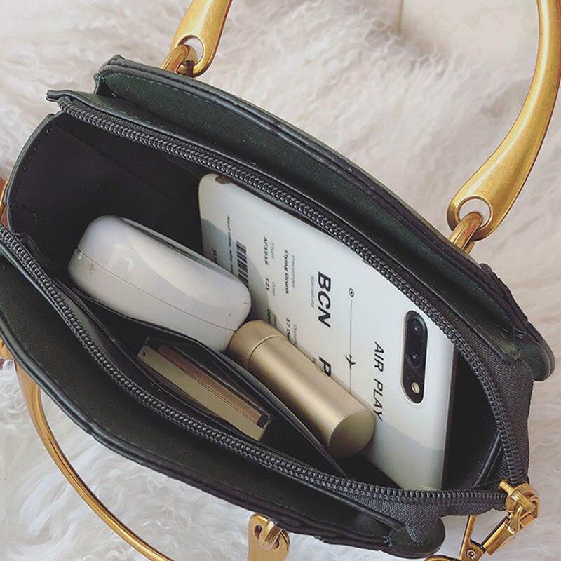 Heißer Mode Umhängetaschen für Frauen 2019 Schulter Tasche Handtasche PU Leder Frauen Messenger Taschen Geldbörse Quasten Kleine Runde Tasche - 6