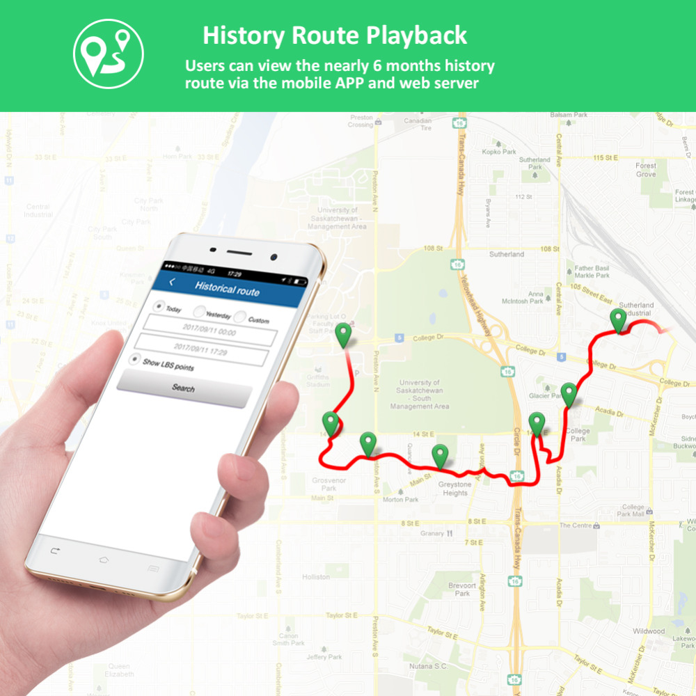 GPS Tracker Voiture TKSTAR TK905 5000 mAh 90 Jours Veille 2G Véhicule Tracker GPS Locator Imperméable À L'eau Aimant Voix Moniteur livraison Web APP - 5
