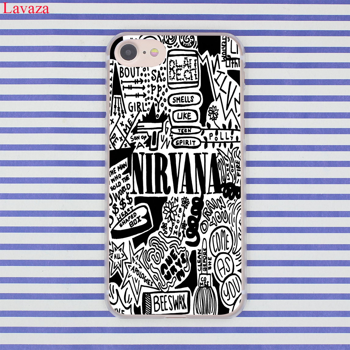 coque iphone xr nirvana