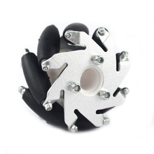 60mm Mecanum Wheel for Arduino Robot Project LE GO NXT and Servo Motor with Plastic Universal Hubs Left Mecanum Wheels