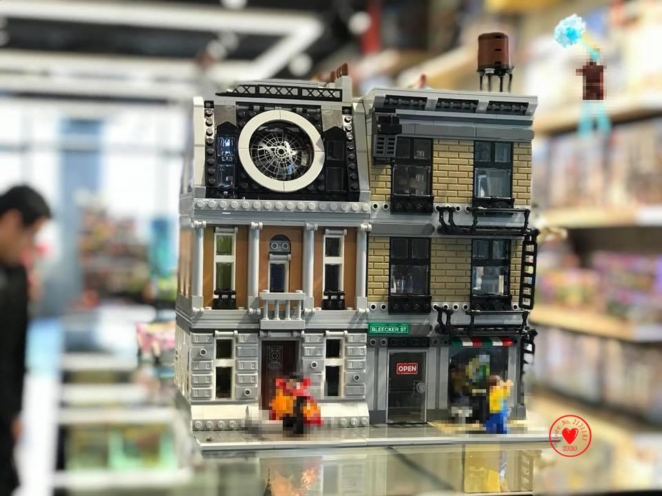 Super Heroes marvel compatible legoes fit 76108 avenger DR strange Sanctum Sanctorum Showdown Building Block Brick Infinity wars sanctum