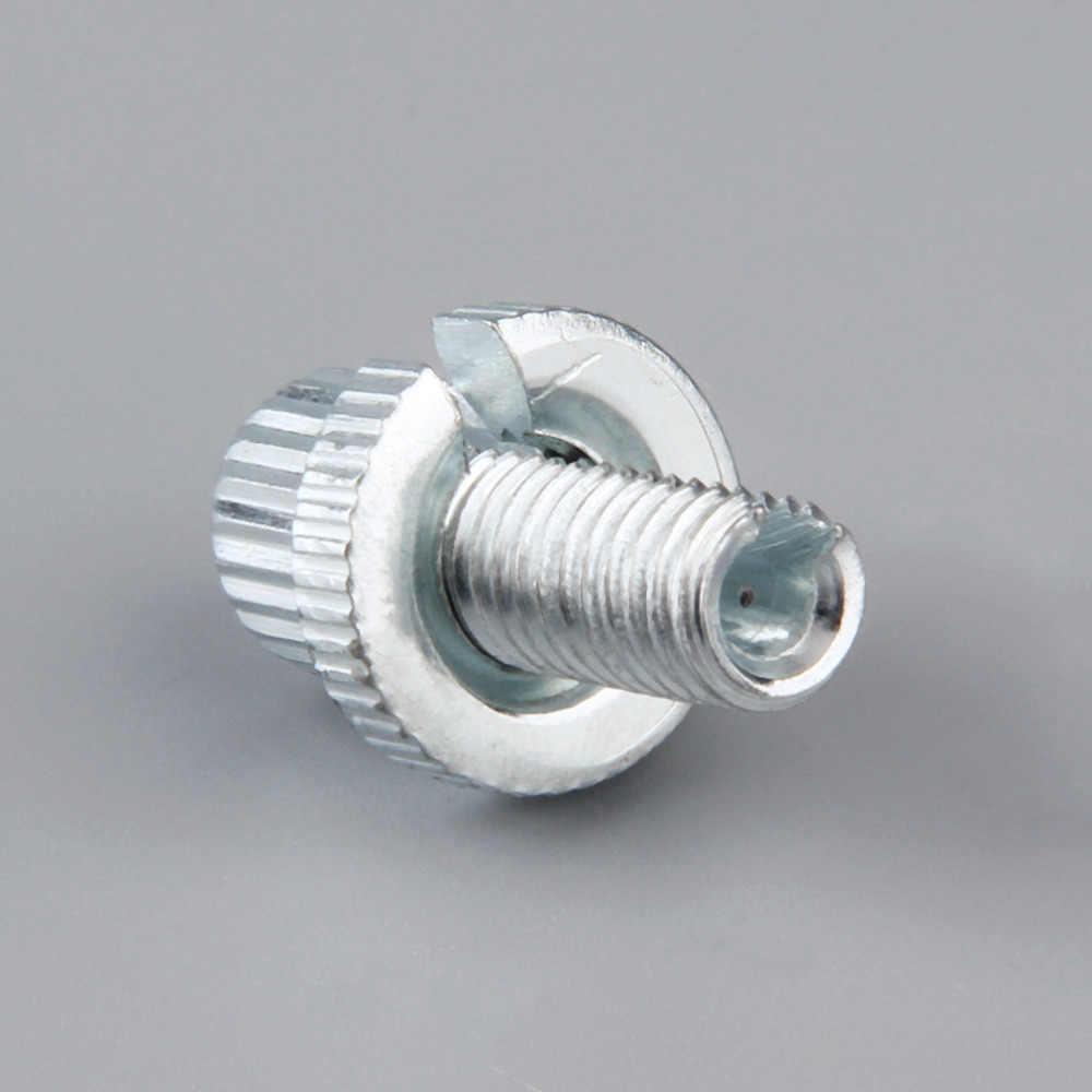 Professional мм 8 мм тормозной кабель Настройщик Рычаги Тормозная система сцепления серебро для велосипеда Велосипедный спорт мотоцикл Метрическая регулировк
