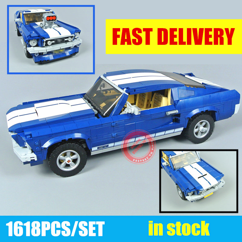 New Technic GT500 1967 Creator Expert Ford Mustang fit technic Model Building Blocks Bricks DIY Toy Birthday Gift fit 21047