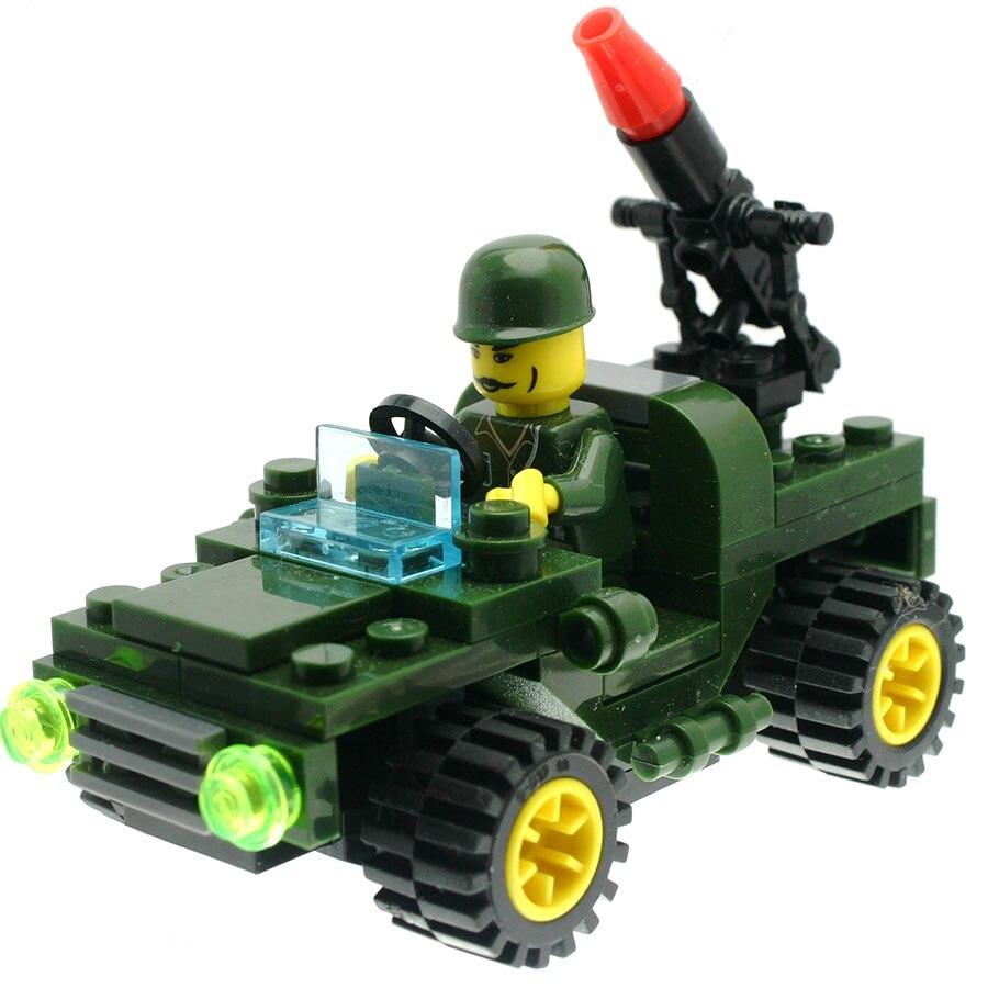 36Pcs/set Land War Chariot Model Figures Fancy Toys for Kids Model Building Kits Compatible with All Brands DT0047