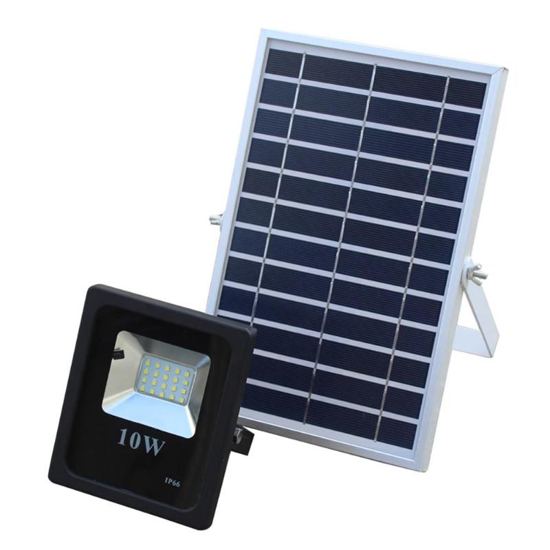 10W Solar Waterproof IP66 20LED Solar Light 2835 SMD Solar Panel LED Flood Light Floodlight Outdoor Garden Security Wall Lamp