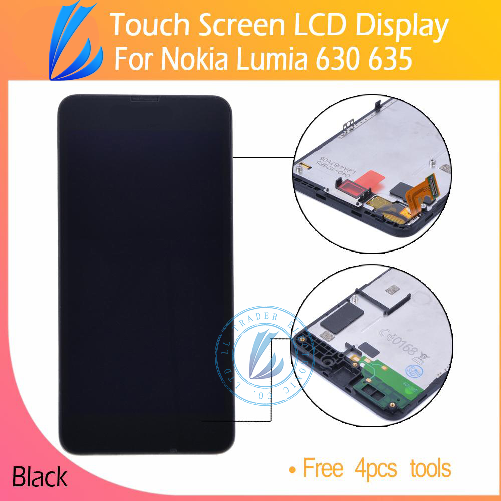 LL TRADER 100 Guarantee Quality High Screen For Nokia Lumia 630 635 LCD Display Digitizer Touch