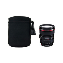 1pcs YN-03 Camera Lens Bag Protective Cover Width 8.5cm Height 13cm Waterproof Soft Pouch for camera accessories