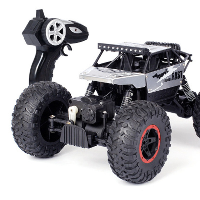 AIBOULLY remote control car 4WD 2.4GHz rc car  climbing car 4x4 dual motor cart remote control model off-road vehicle toy