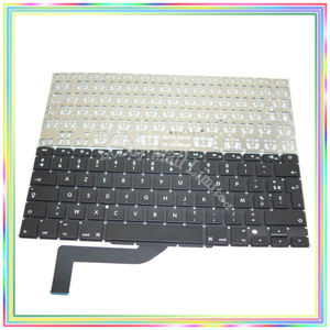 """Brand new AZERTY FR French France Keyboard without Backlight for Macbook Retina 15.4"""" A1398 2013 2014 2015Years"""
