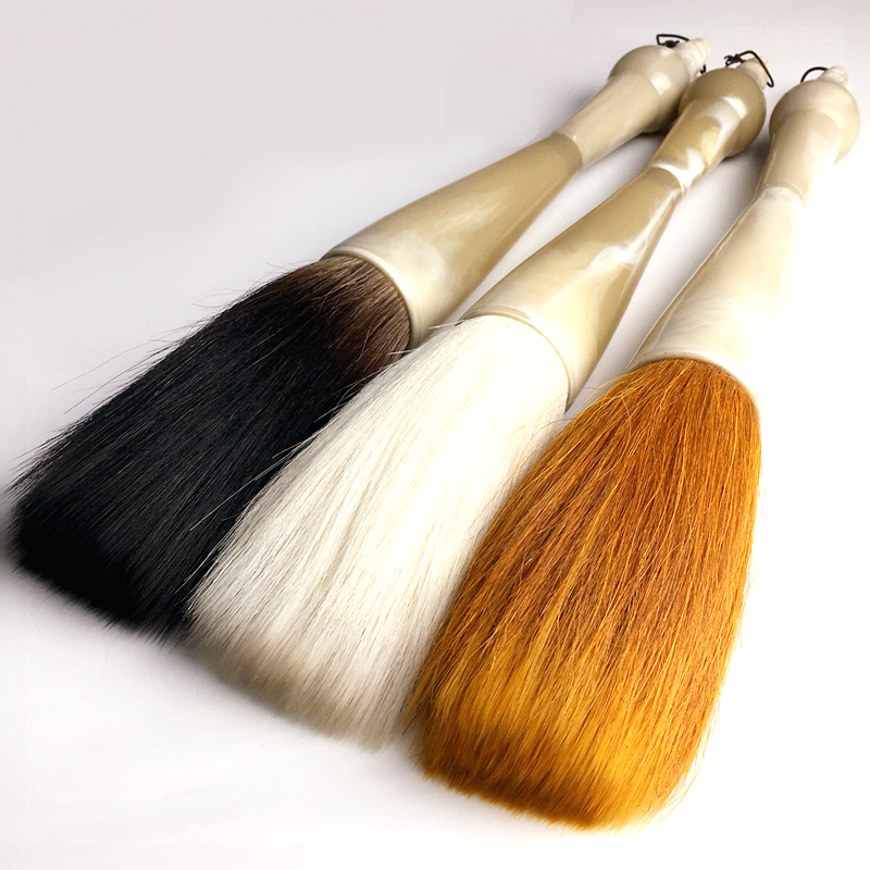 Super Large Hopper-shaped Brush Chinese Traditional Calligraphy Pen Brush Festival Couplets Regular Script Writing Brushes