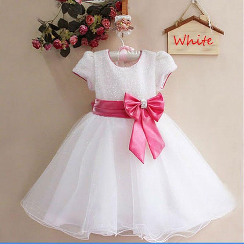 Розничная Элегантное платье, партия девочка платье принцессы одежда бесплатная доставка много цветов 1272
