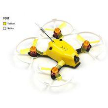 Kingkong 95GT 95mm FPV Drone dengan F3 Balap 4in1 10A Blheli_S 25 mW 16CH 800TVL DSM2