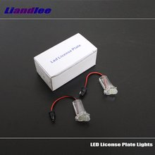 Liandlee For Toyota Alphard 2002~2008 / LED Car License Plate Light /Number Frame Lamp / High Quality LED Lights цена и фото