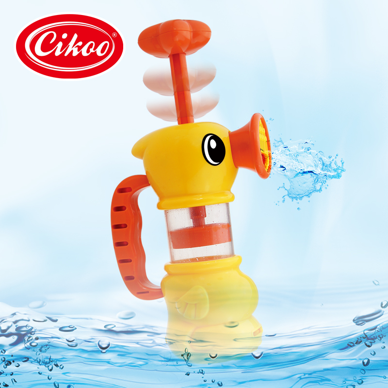 Funny Presents Children Water Shower Bath Toys Kids Bathing Playing Yellow Duck Pool Swimming Plaything Early Educational Toy