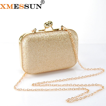 93ac9f23d9 XMESSUN Women Gold Clutch Bag Women Shoulder Bags Crossbody Ladies Evening  Bag for Party Day Clutches Purses and Handbag S80