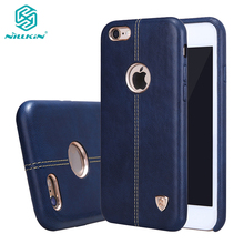 Nillkin Englon Series Case for iPhone 6 6s phone case,Vintage PU Leather Case for iPhone X 10 6plus case with retail package hot
