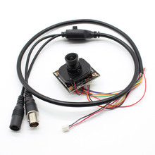 HD Starlight 0.0001Lux NVP2441 + IMX307 4in1 AHD TVI CVI CVBS 2mp Macchina Fotografica del CCTV Modulo Security PCB board 1080P con lente cavo osd